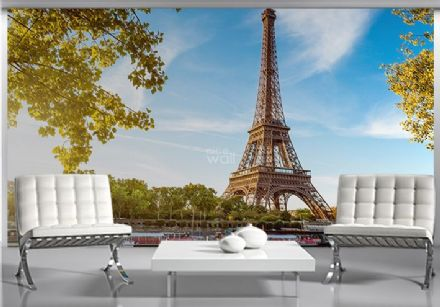 Tour Eiffel Paris France giant wall mural